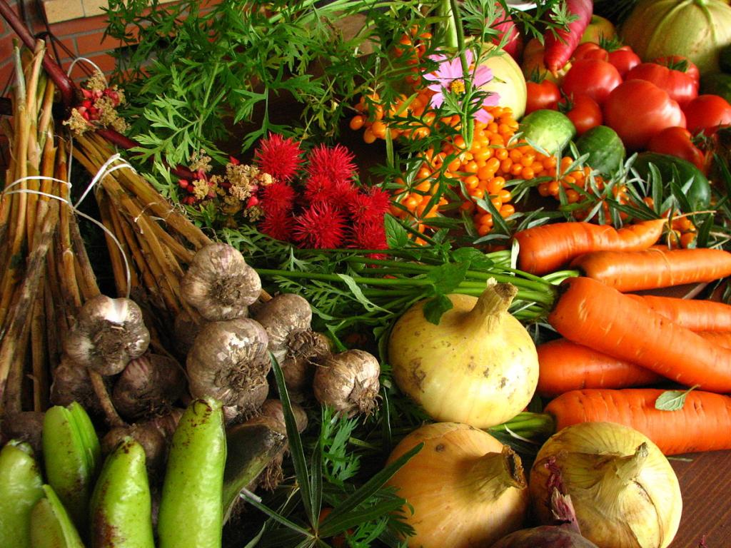 Tasty local produce